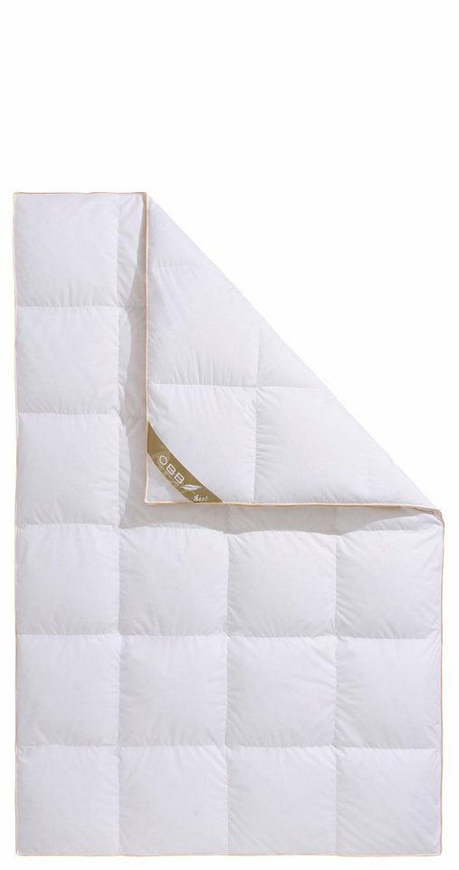 Daunenbettdecke Best Obb Extrawarm Fullung 90 Daunen 10 Federn Bezug 100 Baumwolle 1 Tlg Online Kaufen Otto
