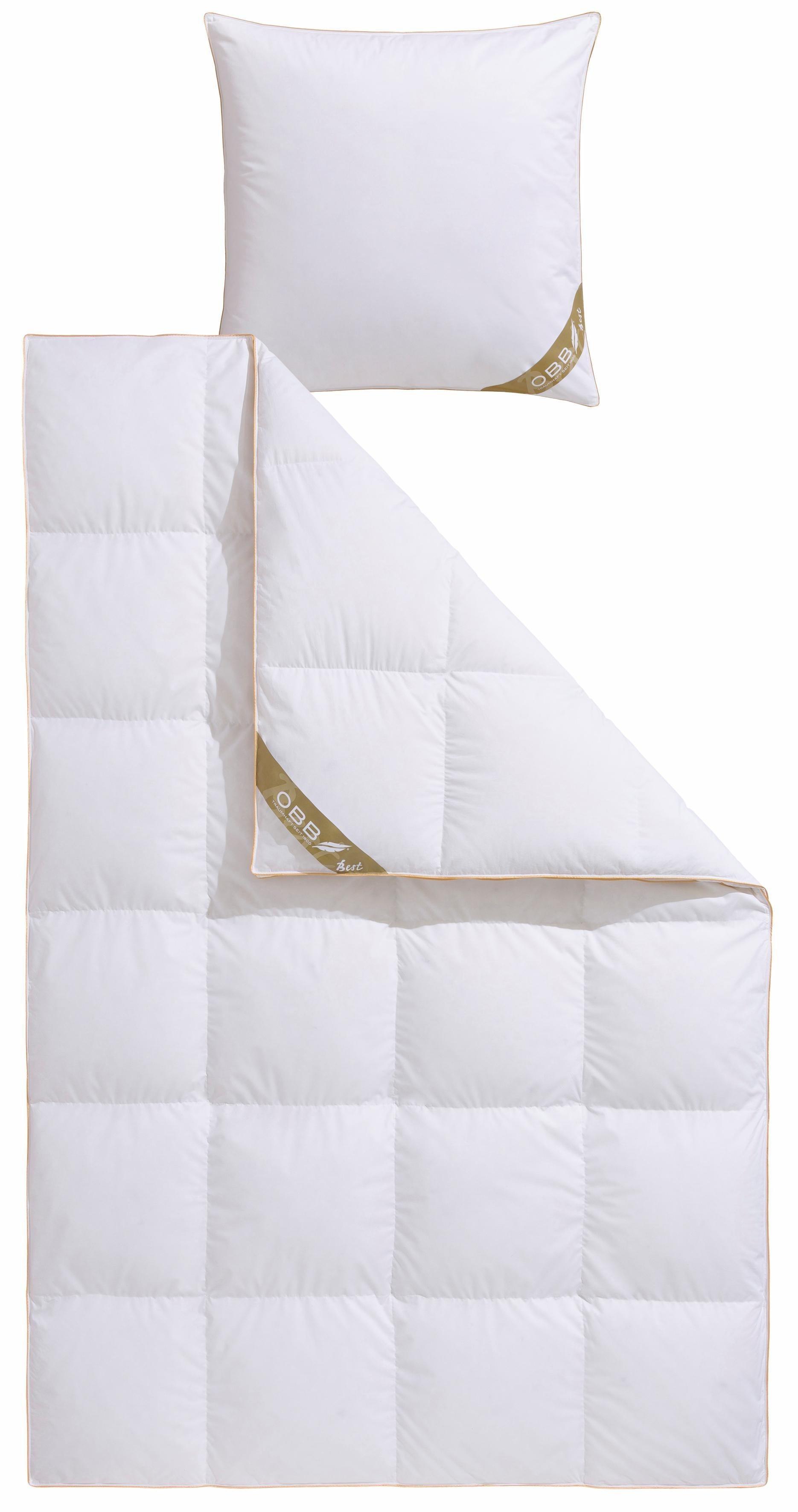 Bettdeckenset, »Best«, OBB, Extrawarm, 90% Daunen, 10% Federn | Heimtextilien > Decken und Kissen > Bettdecken | Federn | OBB