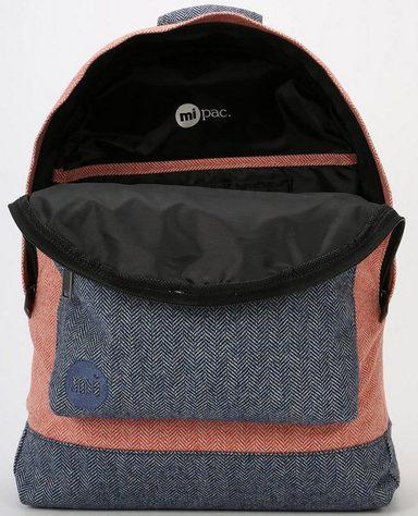 Terracotta Mit « Premium navy »heavyweight Mi Laptopfach Pac Rucksack Herringbone Mix 8wqwEUR7