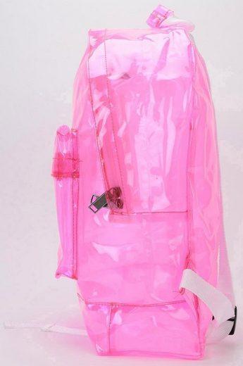 Pac Rucksack Laptopfach »transparent Mi Pink« Mit dTvFRx