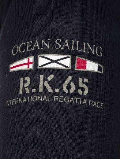 Roger Kent Poloshirt mit Frontdruck