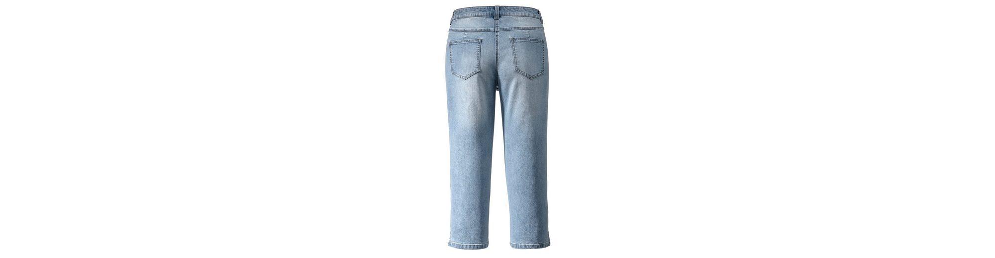 Janet und Joyce by Happy Size Capri-Jeans Die Besten Preise Zu Verkaufen Spielraum Preise Günstig Online ol7f25