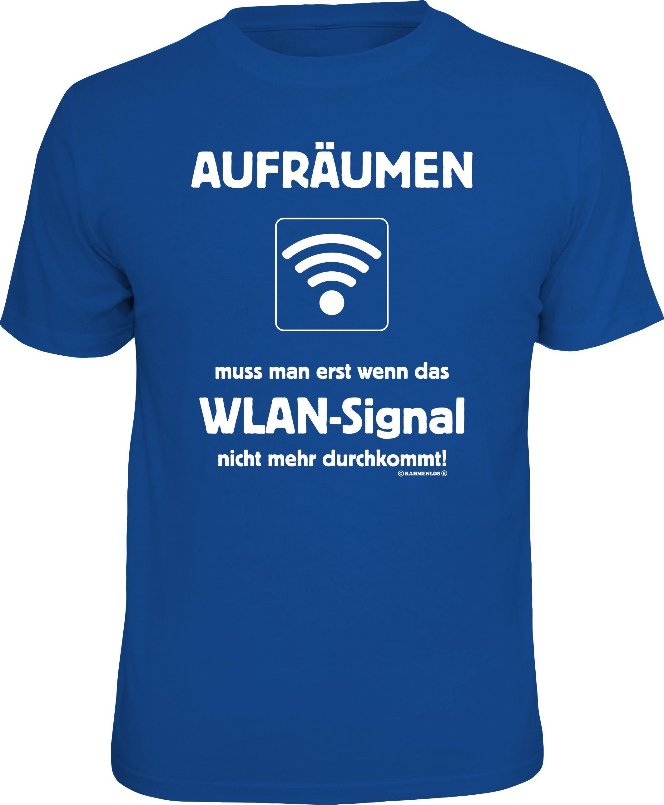 Rahmenlos T-Shirt »WLAN«