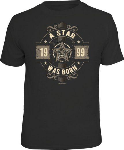 Rahmenlos T-Shirt »A Star was born 1999«