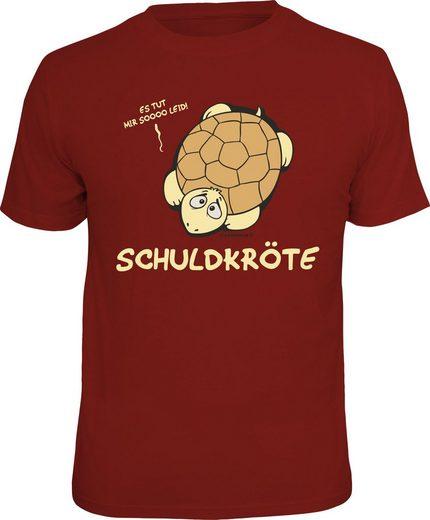 Rahmenlos T-Shirt »Schuldkröte - es tut mir sooo leid!«