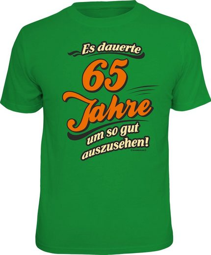 Rahmenlos T-Shirt »Es dauerte 65 Jahre um so gut auszusehen«
