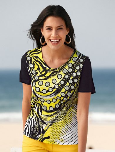 Paola Shirt With Decorative Stones