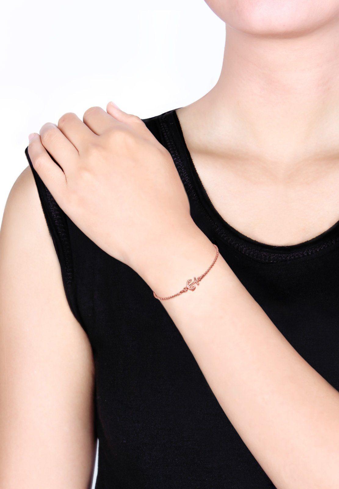 925 Armband Silber Online »anker Elli Maritim Trend Symbol Rosé« Kaufen f7yvYb6gIm