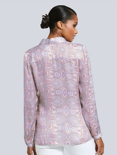 Alba Moda Bluse mit Paisley-Print