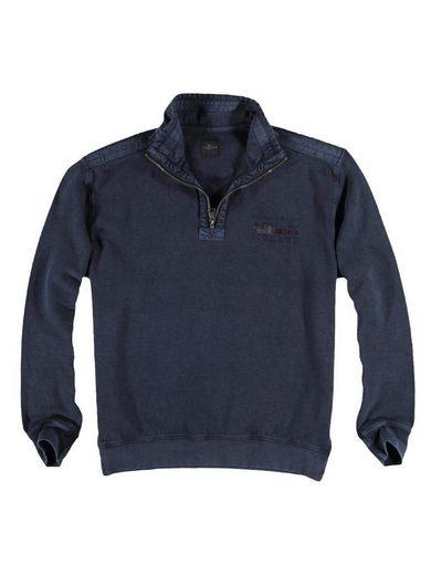 Sweatshirt À Genou Stehbund
