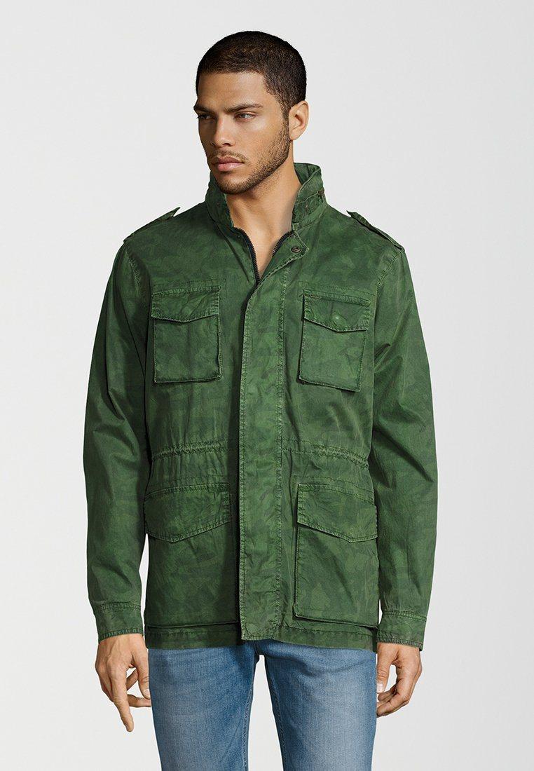 Herren Pepe Jeans Outdoorjacke BEENIE grün | 08434341487893