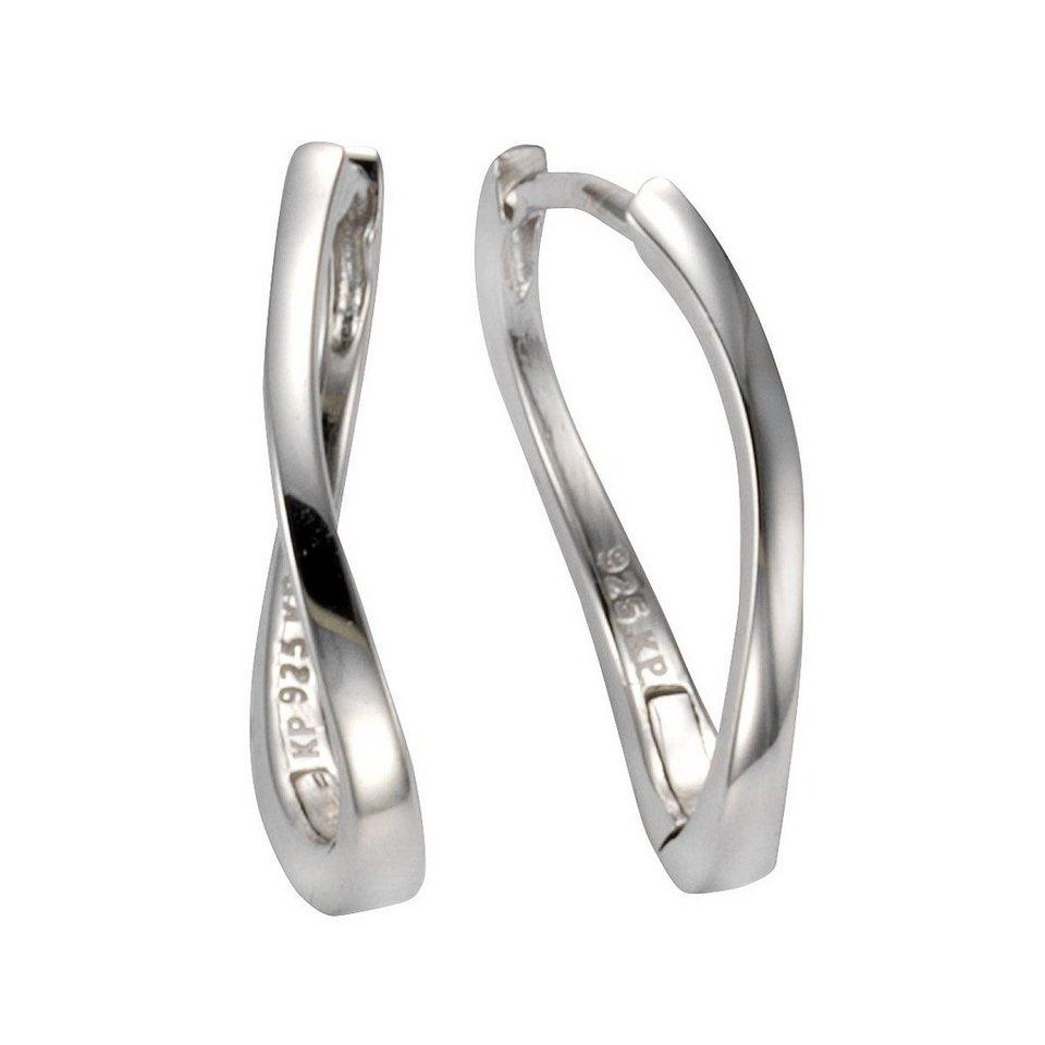 95697cf8fcbe CELESTA Klappcreolen 925 - Sterling Silber »925 - Sterling Silber glanz«
