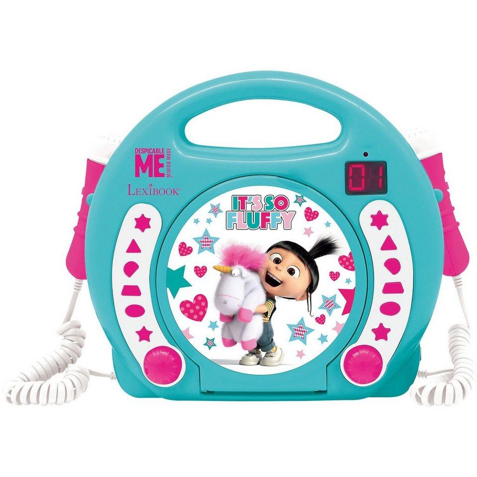 Lexibook® Fluffy Kinder CD-Player mit 2 Mikrofonen