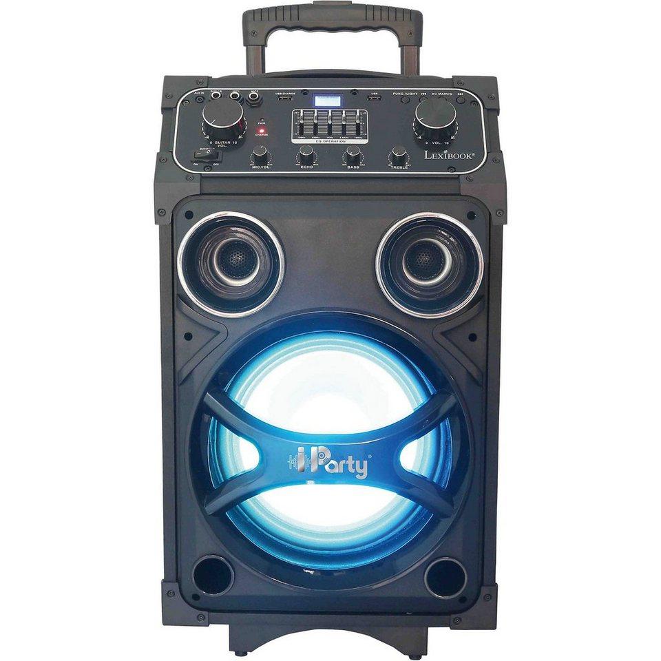 lexibook karaoke anlage mit bluetooth mikrofon und. Black Bedroom Furniture Sets. Home Design Ideas