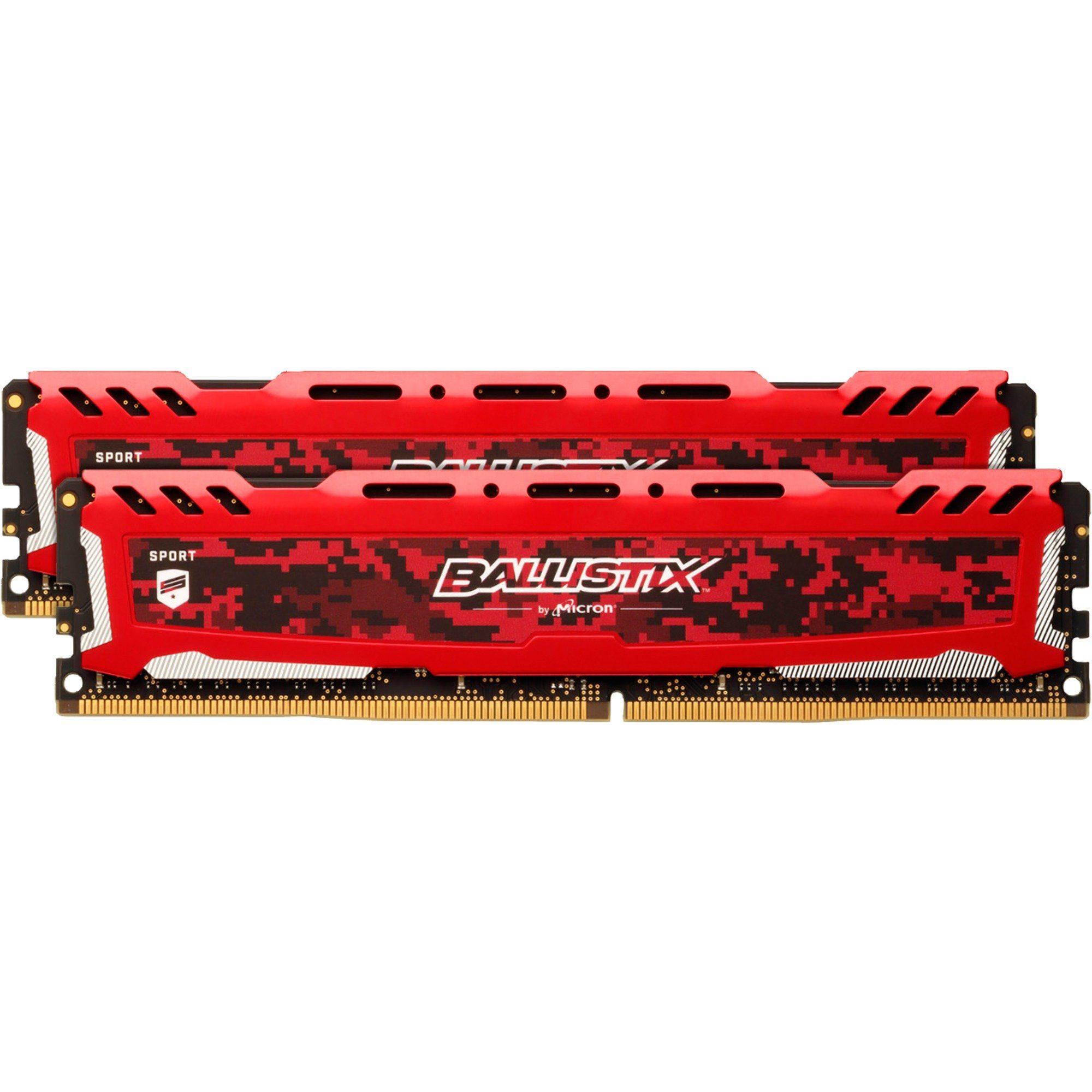 Ballistix Arbeitsspeicher »DIMM 16 GB DDR4-2400 Kit«