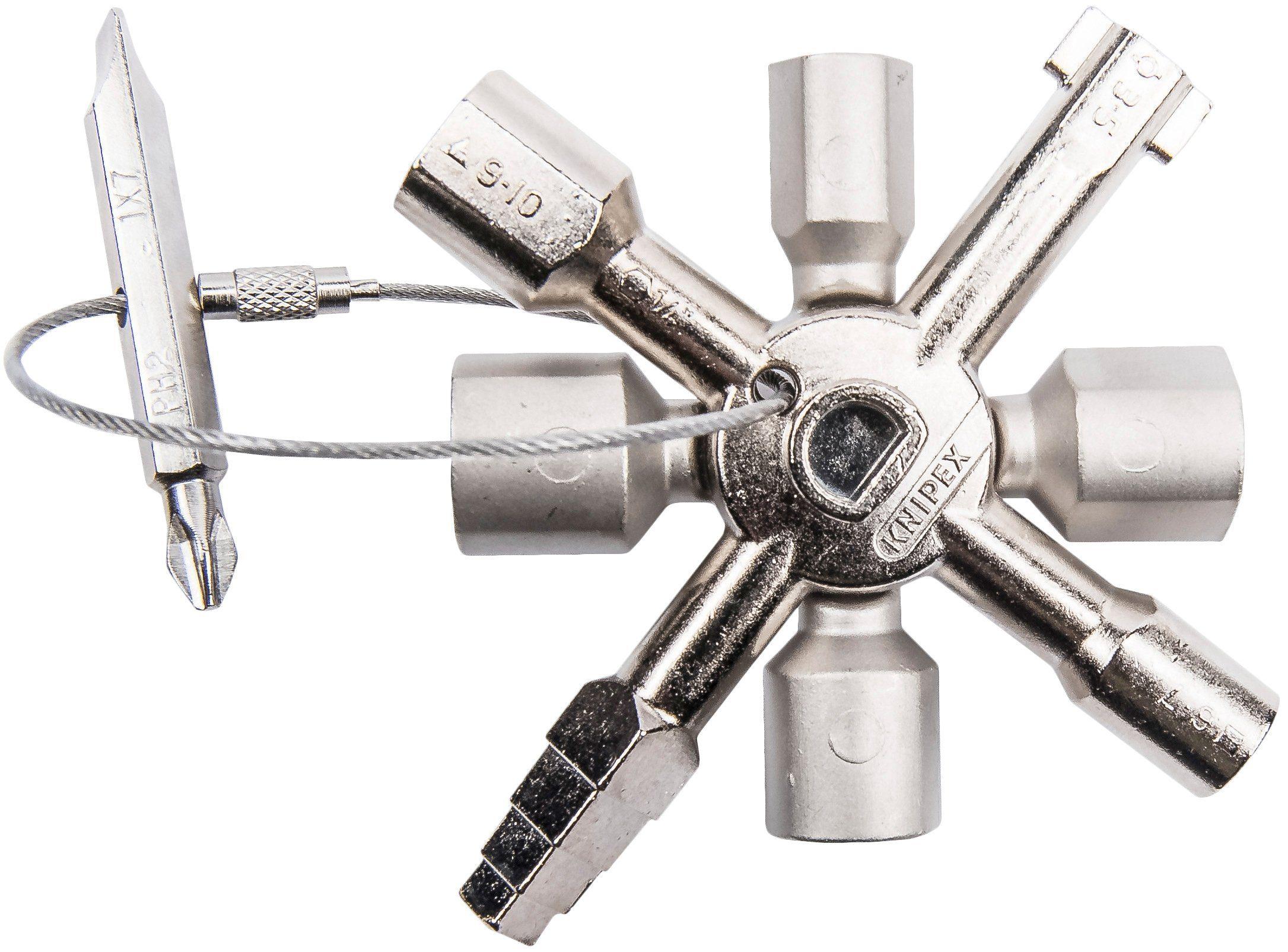 KNIPEX Universalschlüssel »Twin Key«