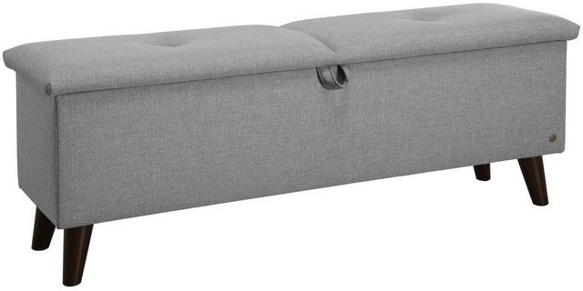 Sessel und Hocker - TOM TAILOR Hockerbank »PILLOW BOX«, mit Stauraum, mit dekorativem Knopfdetail im Sitz  - Onlineshop OTTO