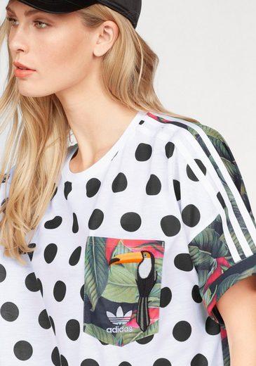 adidas Originals T-Shirt T-SHIRT, Mit echter Stickerei
