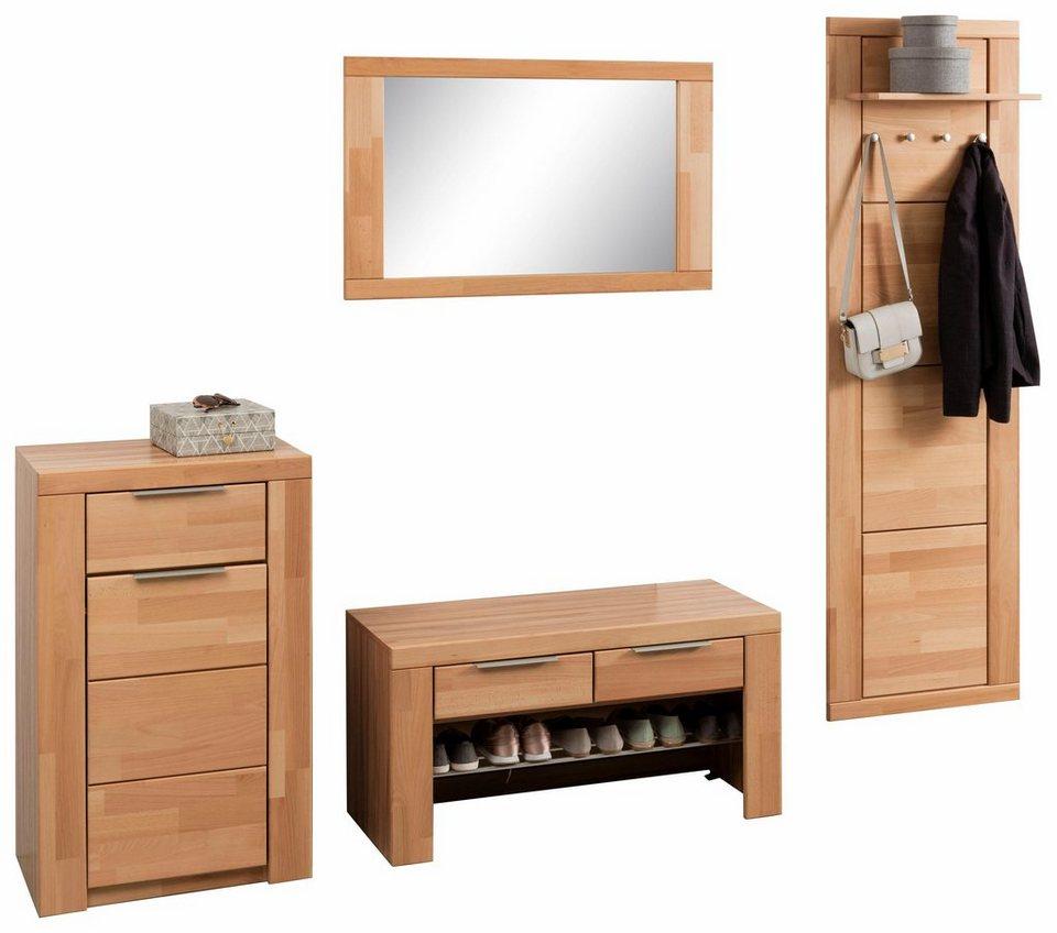 garderoben set zara 4 tlg online kaufen otto. Black Bedroom Furniture Sets. Home Design Ideas