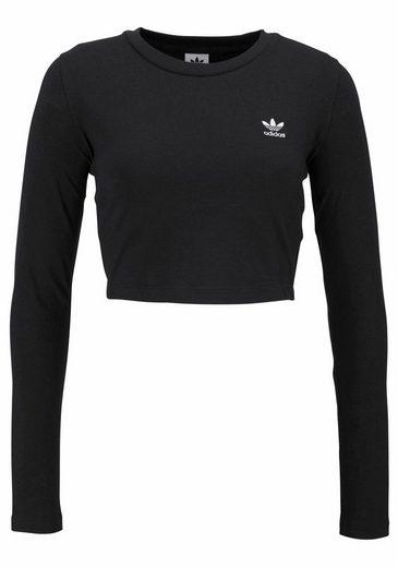 Adidas Originals Langarmshirt Stlying Compliments T-shirt Cropped, Cut Short
