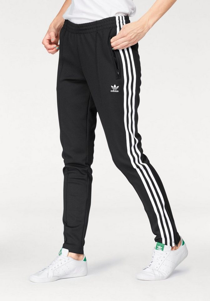 elegant shoes shopping huge discount adidas Originals Trainingshose »SUPER STAR TRACKPANTS«, Seitliche  Reißverschlusstaschen online kaufen | OTTO