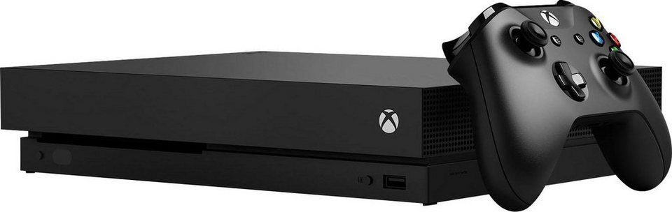 xbox one x 1tb 4k ultra hd online kaufen otto. Black Bedroom Furniture Sets. Home Design Ideas