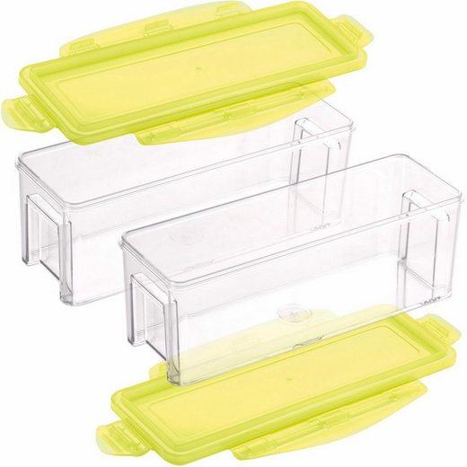 Genius Auffangbehälter, Kunststoff, (4-tlg)