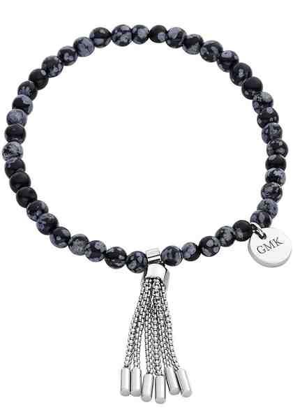 GMK Collection Armband »87133966«, mit Schneeflocken-Obsidian