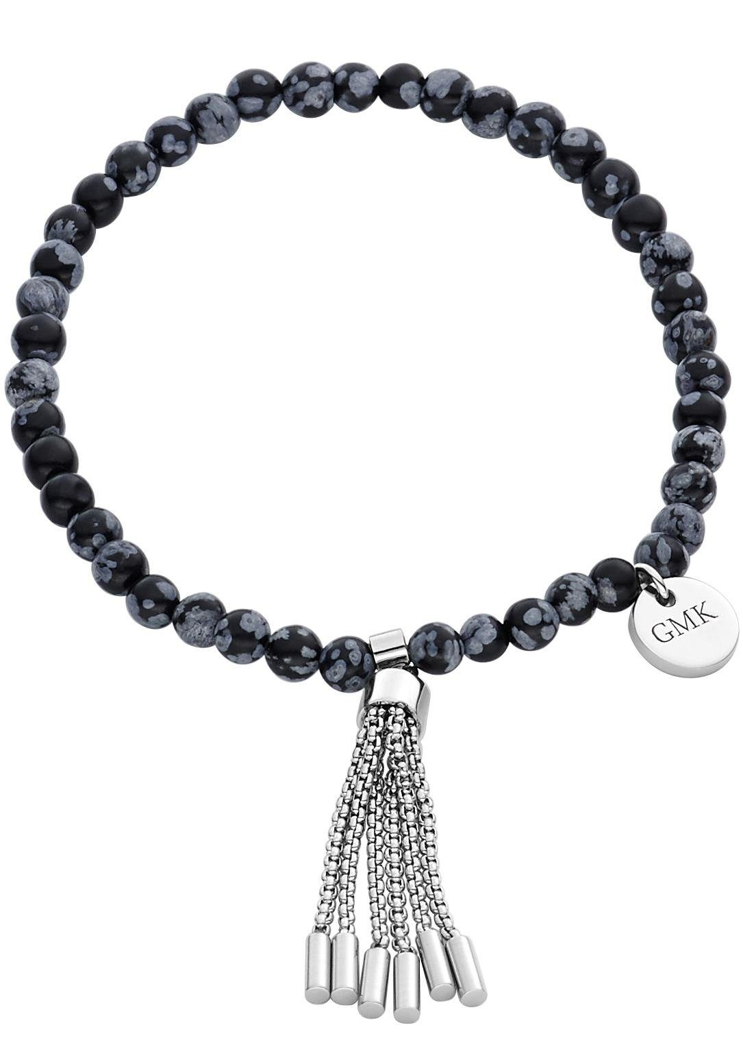 GMK Collection Armband »87133966«, mit Schneeflocken-Obsidian