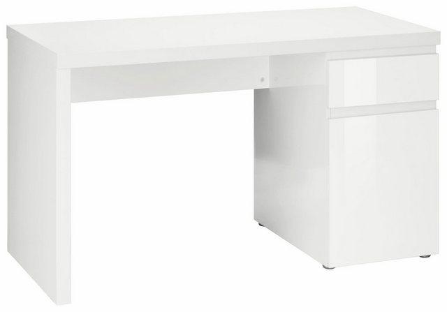 Schreibtische - HMW Schreibtisch »Ben«, grifflose Optik  - Onlineshop OTTO