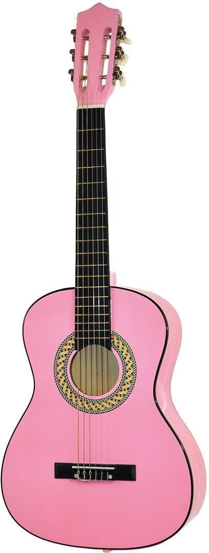 Voggenreiter Kindergitarre, »Kindergitarre 1/2, pink«