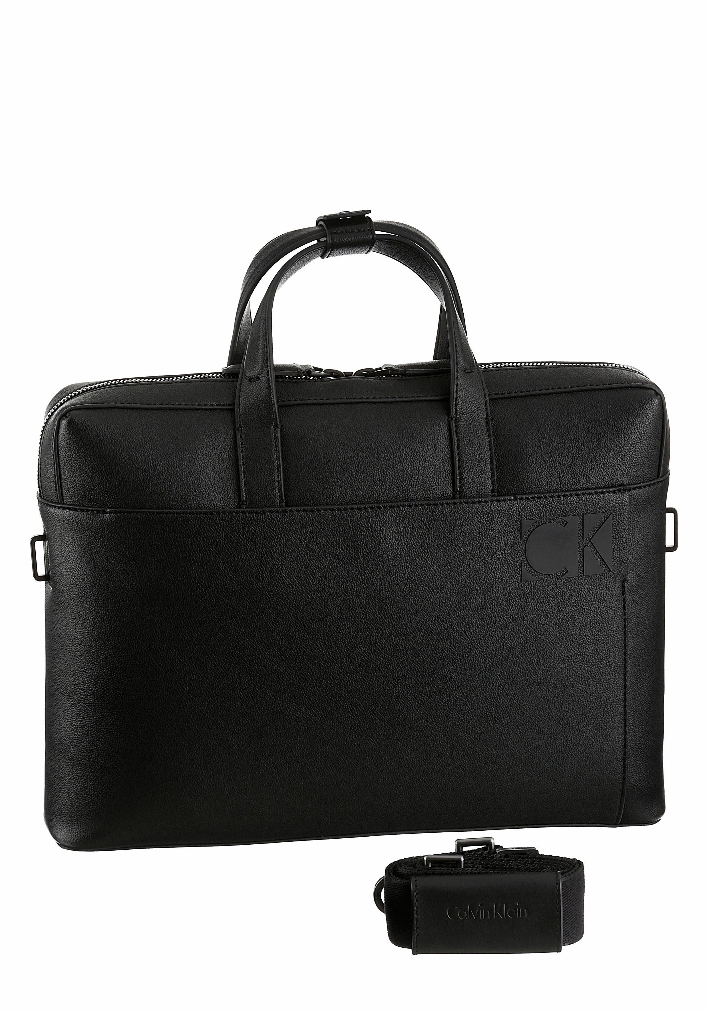 Calvin Klein Aktentasche »HI_PROFILE SLIM LAPTOP BAG«, mit praktischem Vorfach