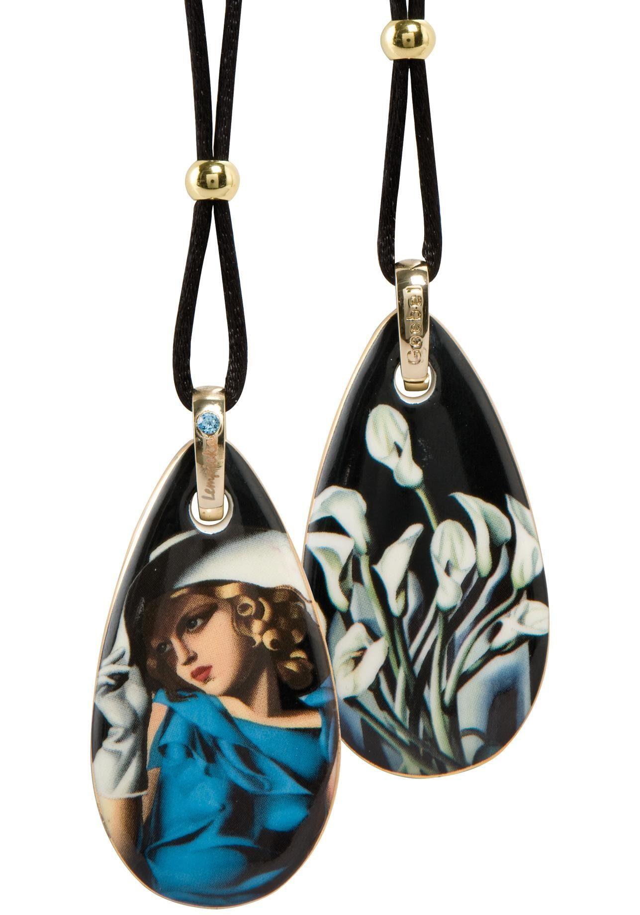 Goebel Kette mit Anhänger »Woman with Gloves, 67070101« mit Swarovski® Kristall