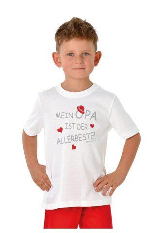 TRIGEMA Marškinėliai Opas Liebling