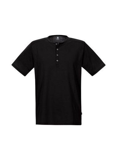 TRIGEMA T-Shirt mit Knopfleiste