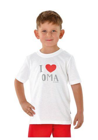 TRIGEMA Marškinėliai Lieblings-Oma