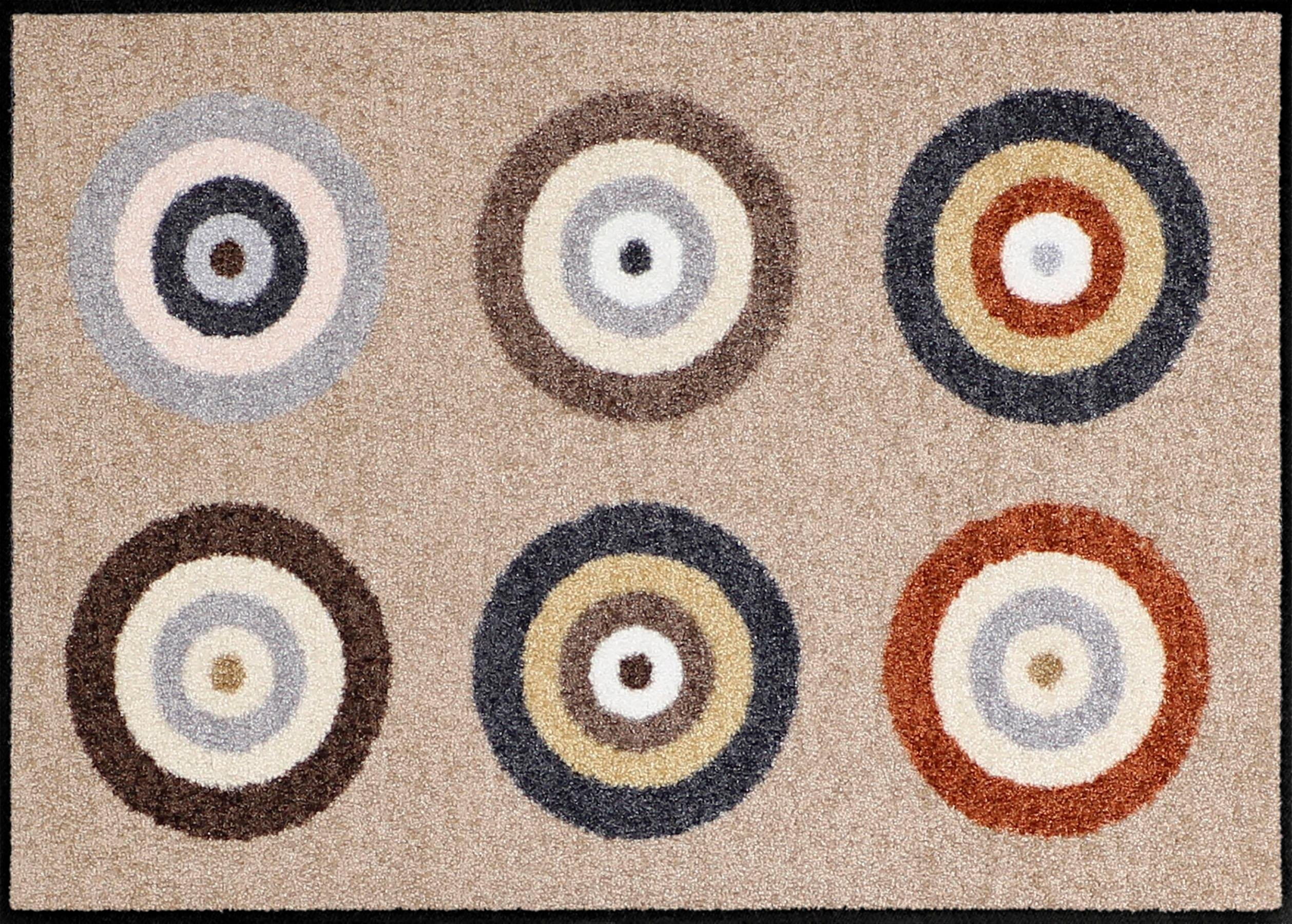 Fußmatte »Target«, Salonloewe, rechteckig, Höhe 6 mm | Heimtextilien > Fussmatten | Salonloewe