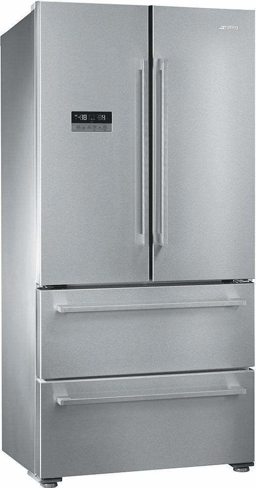 Smeg Side-by-Side FQ55FX2PE, 182 cm hoch, 84 cm breit