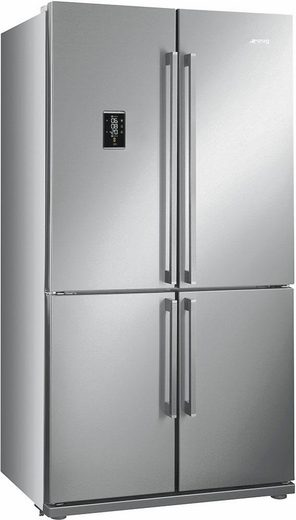 Smeg Side-by-Side FQ60X2PE, 182 cm hoch, 92 cm breit