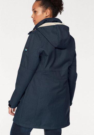 Polarino Soft Shell Coat, Inside With Soft Teddyplüsch