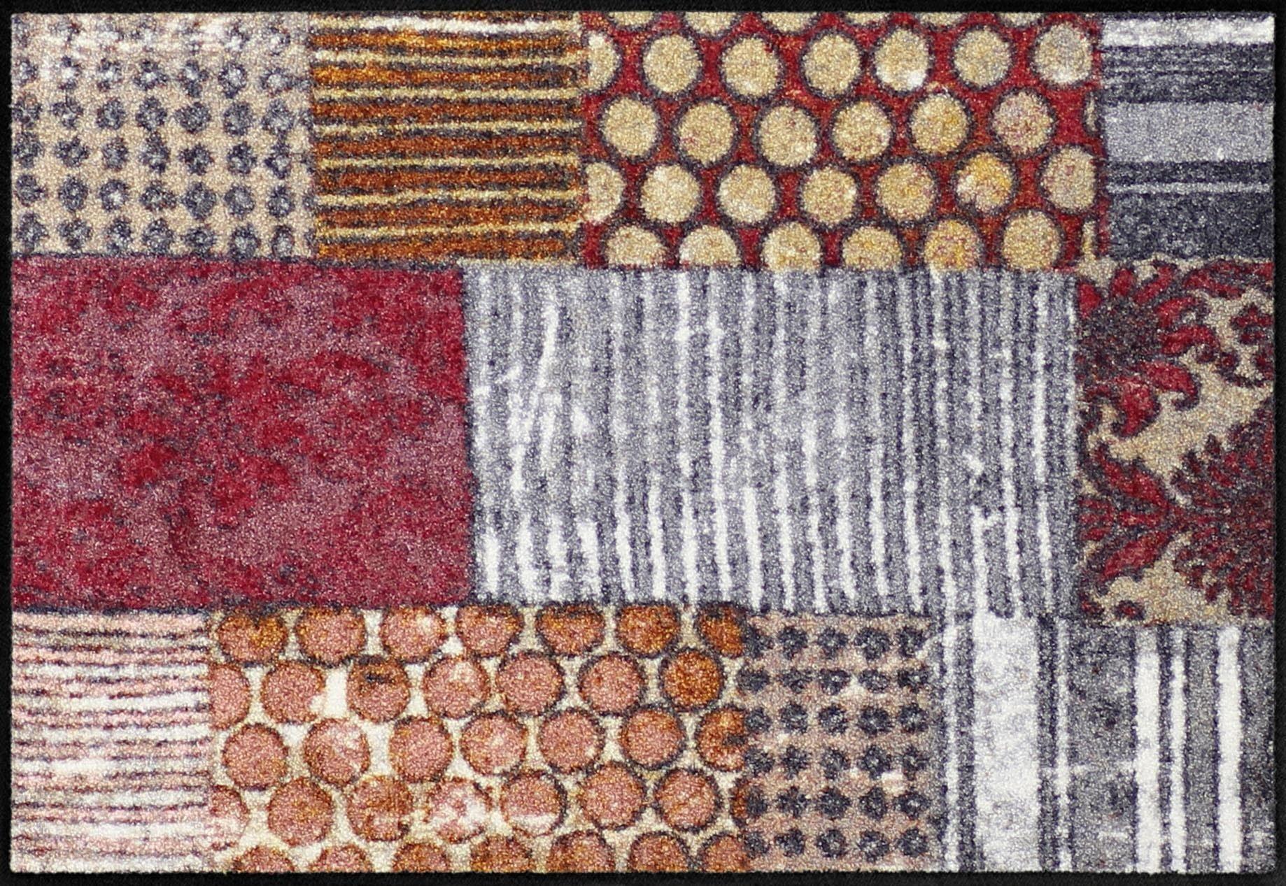 Fußmatte »Pattern Mood«, Salonloewe, rechteckig, Höhe 6 mm, In- und Outdoor geeignet