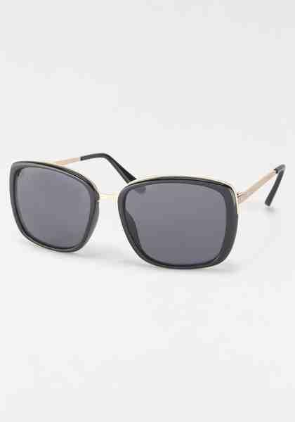 Sonnenbrille, Rahmen im Materialmix