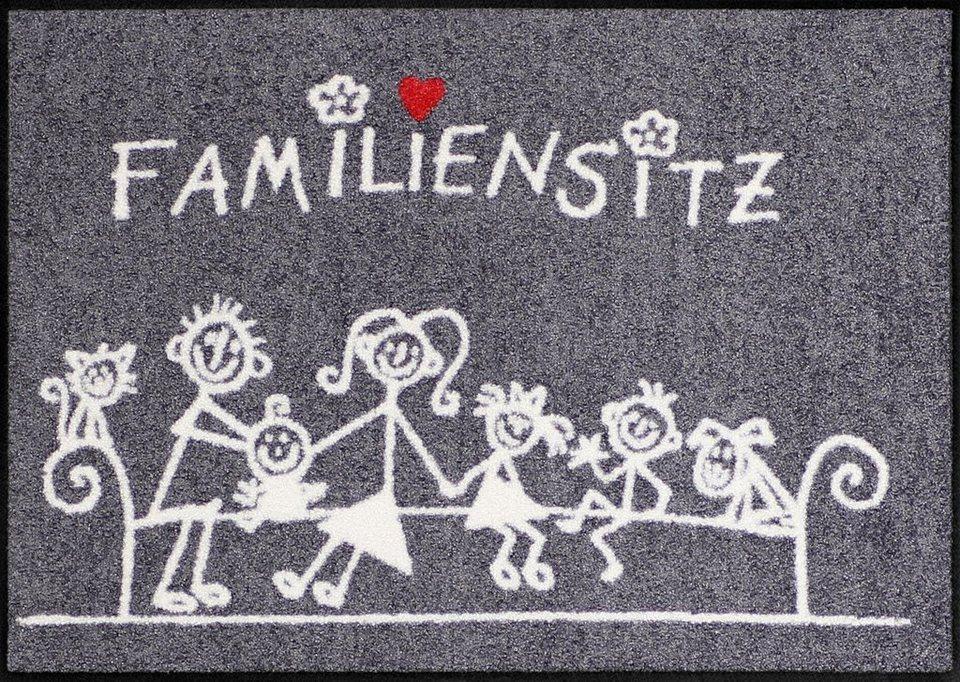 Fußmatte »Familiensitz«, Salonloewe, rechteckig, Höhe 6 mm, In- und Outdoor  geeignet online kaufen | OTTO