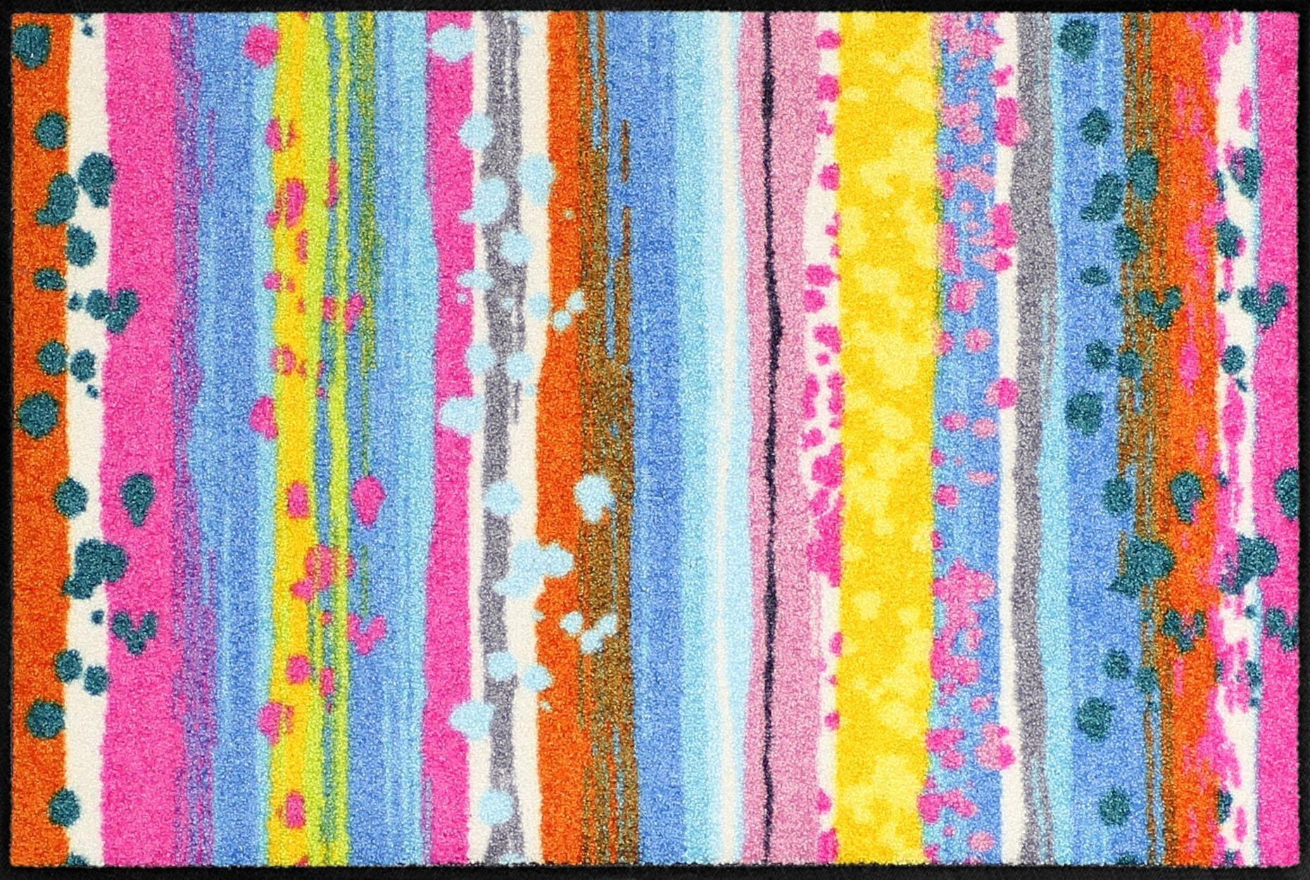 Fußmatte »Spot Stripes«, Salonloewe, rechteckig, Höhe 6 mm | Heimtextilien > Fussmatten | Salonloewe