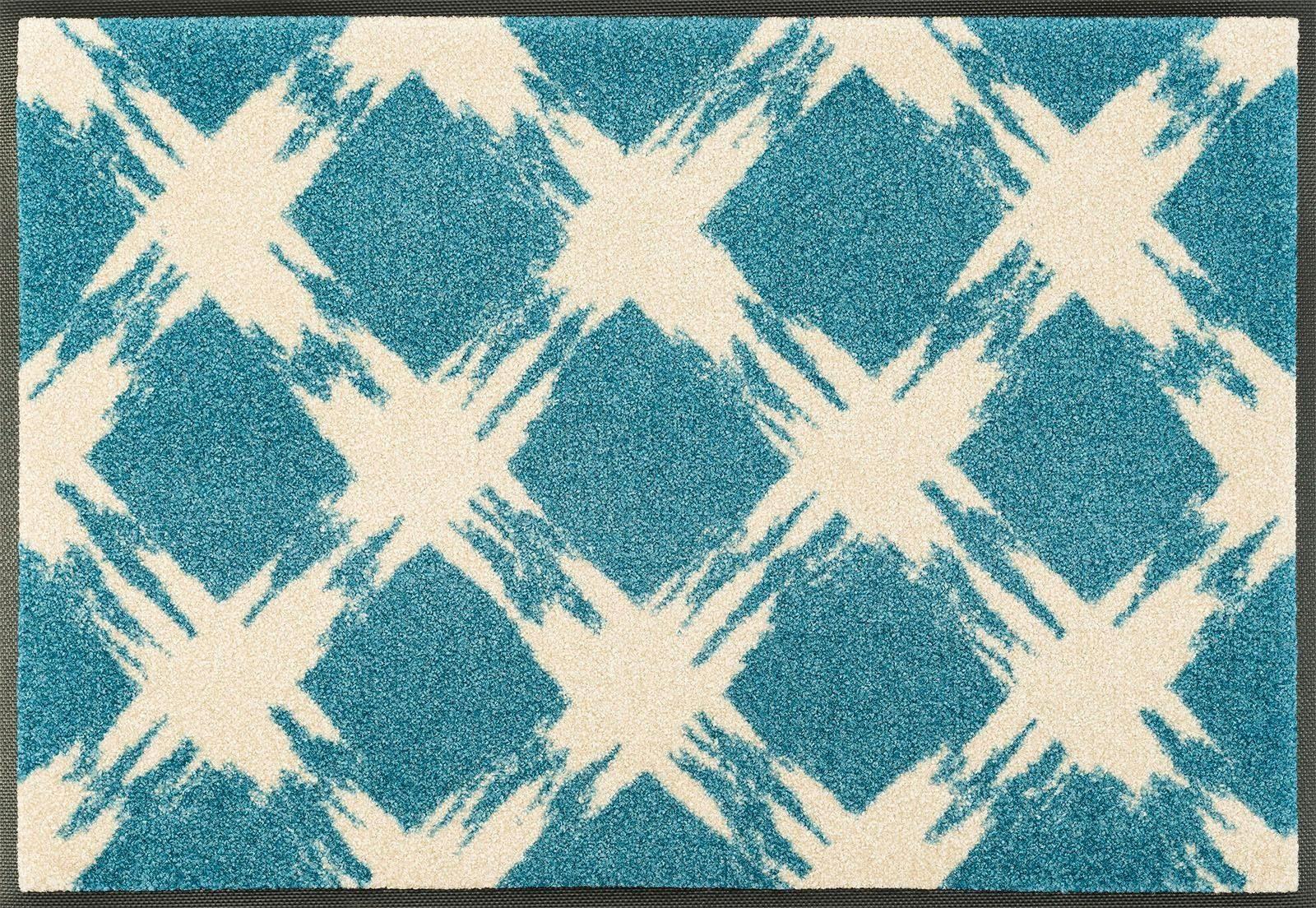 Fußmatte »Rogelio«, wash+dry by Kleen-Tex, rechteckig, Höhe 7 mm