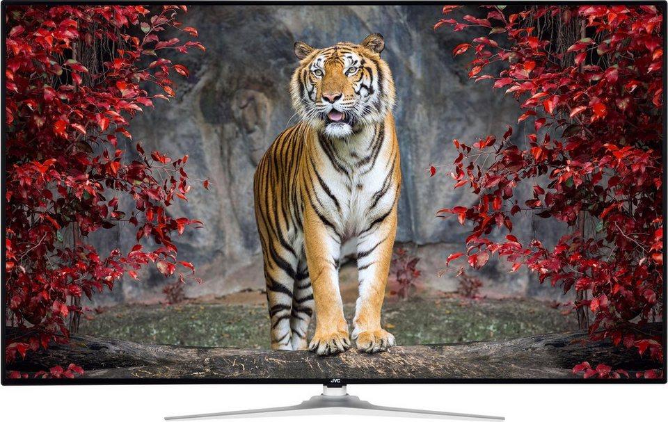 jvc lt 55vu92j led fernseher 139 cm 55 zoll 4k ultra hd smart tv online kaufen otto. Black Bedroom Furniture Sets. Home Design Ideas