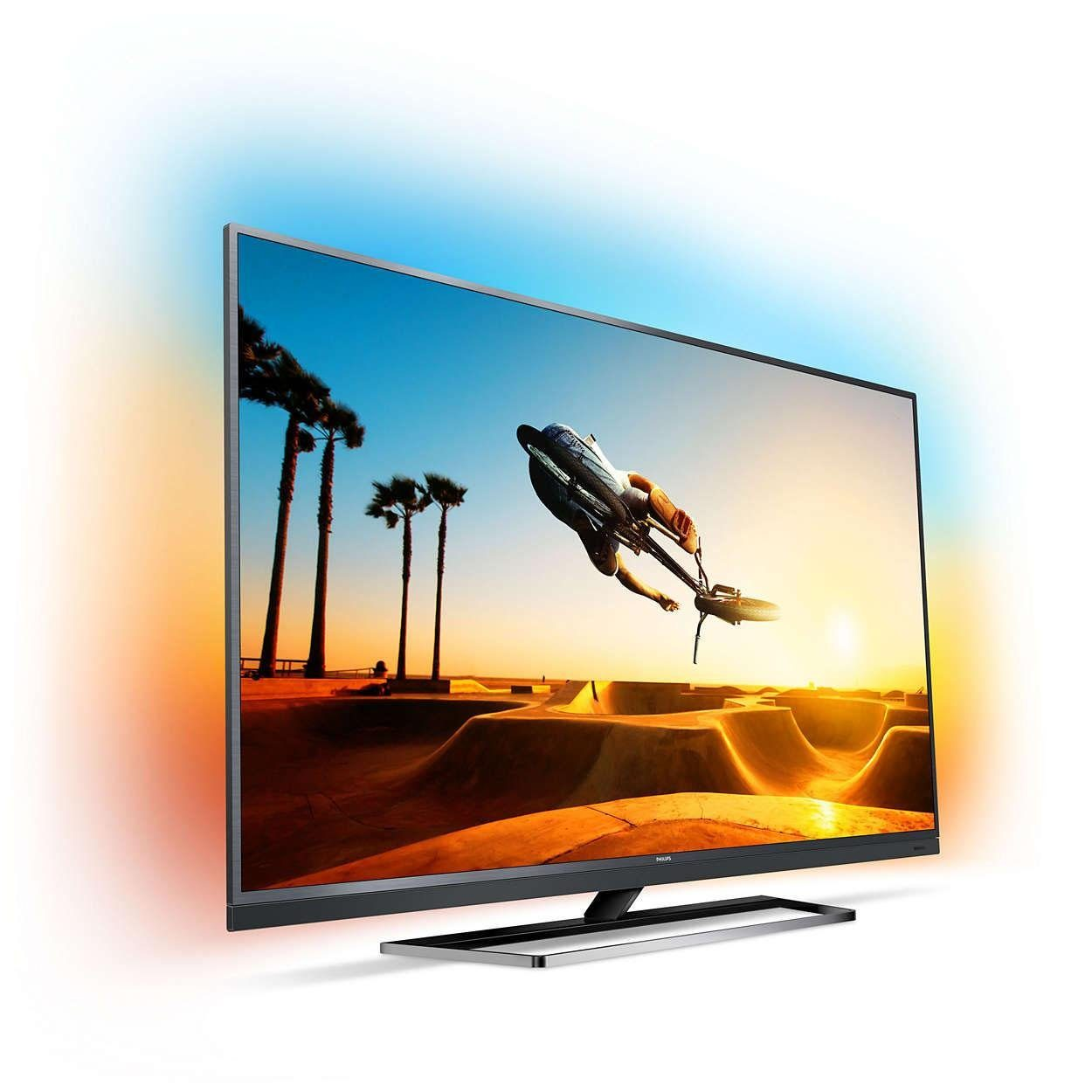 Philips 55PUS7502/12 LED-Fernseher (139 cm/55 Zoll, 4K Ultra HD, Smart-TV, Ambilight)