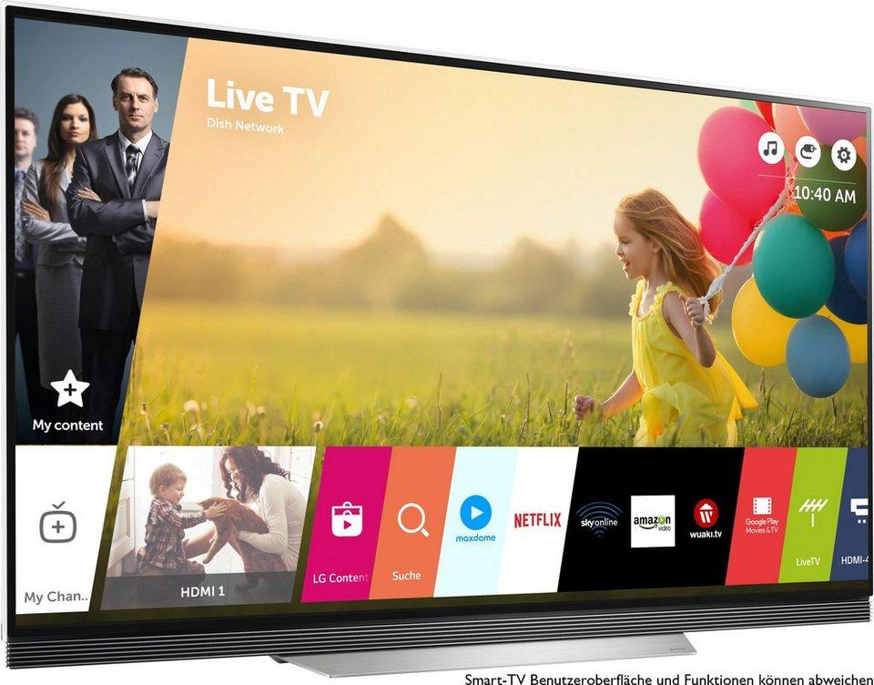 lg oled65e7v oled fernseher 164 cm 65 zoll 4k ultra hd smart tv online kaufen otto. Black Bedroom Furniture Sets. Home Design Ideas