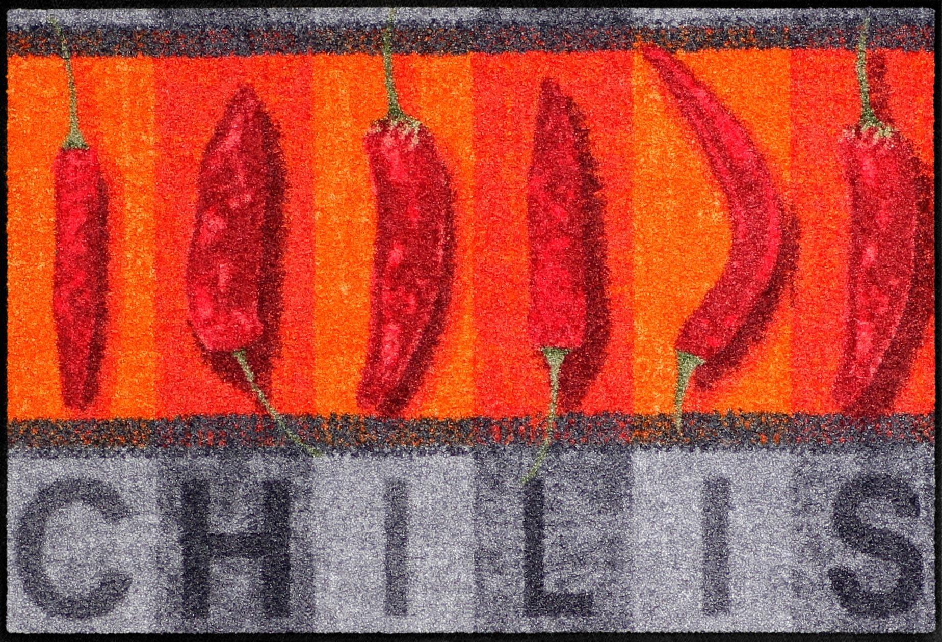 Fußmatte »Chilispice«, Salonloewe, rechteckig, Höhe 6 mm