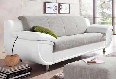 Weißes Sofa sofa in weiß kaufen otto